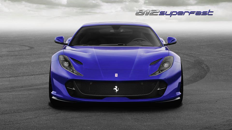 Superfast blauw